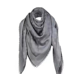 Wholesale Thick Silk Scarf - Top qualtiy Winter Scarf Women Luxury Brand scarves Big Size 140*140cm Scarves design Pashmina Infinity Scarf Women Thick Shawls