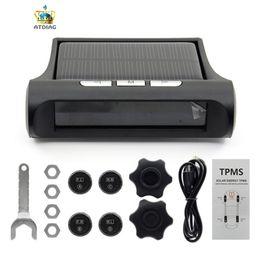 Argentina Sistema de monitoreo de presión de neumáticos 12V en tiempo real inalámbrico inteligente TPMS presión de neumáticos Alarma Cargador de coche con 4 sensores cheap wireless chargers Suministro