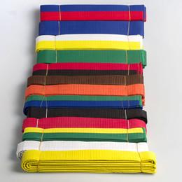 le basi dell'arte Sconti Cintura di base in taekwondo vari colori e lunghezza di arti marziali Karate Judo