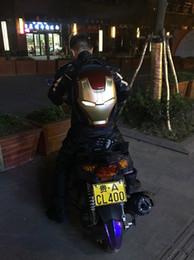 Marvel 3d lights en Ligne-miwind marque Marvels Le sac de cosplay sac à dos 3D eclairage ironman