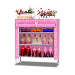 shelf for s racks Non-woven fabrics furniture Shoe cabinet shoe storage mueble zapatero shelf for shoes
