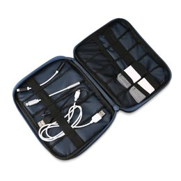 Wholesale Feed Lines - Data Cable Line Wire Feed Bag Large cable organizer Bags Practical Handset Accessories Pouch Case ZD200402