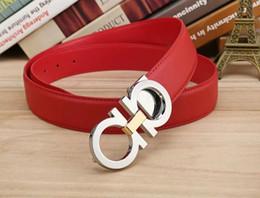 Wholesale Man Belt Jeans - High quality designer belts men Jeans belts Cummerbund belts For men Women Metal Buckle with the 105cm-125cm