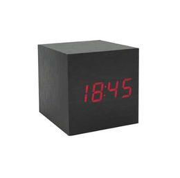 relógios de mesa antiga Desconto Relógio antigo do escritório do vintage relógio Digital LED mesa Retro personalizado breve relógio de arte relógio silencioso presente pequeno eletrônico