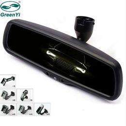 Auto dim on-line-GreenYi mais seguro Driving Auto escurecimento Rear View Interior Espelho Monitor com suporte especial original para todos os carros
