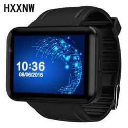 Телефон os онлайн-DOMINO DM98 Smart Watch 2.2 inch Android 4.4 OS 3G Smartwatch Phone MTK6572A Dual Core 1.2GHz 4GB ROM Camera WCDMA GPS