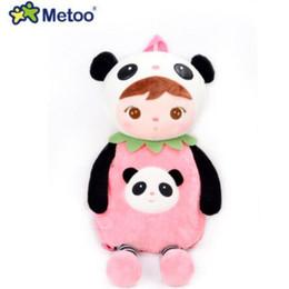 Мешки-мешки онлайн-Metoo животные мультфильм школьные сумки дети кукла плюшевые рюкзак игрушки дети сумка для детского сада Анджела Кролик девочка