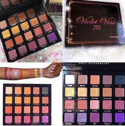 Wholesale Palette Corrector Makeup - HOT NEW Makeup Violet Voss Holy Hashtag Pro Eye Shadow Palette REFOR 20 color eyeshadow DHL shipping