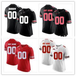 Barato costume Ohio State Buckeyes dos homens Da Faculdade camisa de futebol  Personalizado Jersey Qualquer nome número Jersey Costurado XS-5XL f7b91e9299a0e