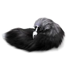 Argentina Al por mayor-enchufe de acero inoxidable Faux Fox Tail Stopper regalo de San Valentín sorpresa de regalo Suministro