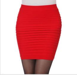 Wholesale Dress Slim Tight - Chic Womens Mini Skirt Stretch Seamless Tight Slim Short Summer Candy Dress R50