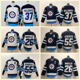 Winnipeg Jets 29 Patrik Laine 26 Blake Wheeler 55 Mark Scheifele 33 Dustin  Byfuglien 37 Connor Hellebuyck 100% Stitched Jerseys S-3XL 0b4db9f58
