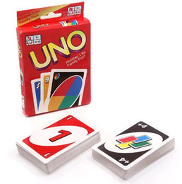 Wholesale fun packs - hot sale family card game poker UNO Fun One Pack of 108pcs Pokers Card Game Fold Playing Card Entertainment Board Game