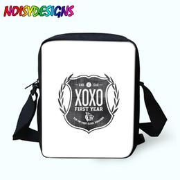EXO Baskı Messenger s Kızlar Mini Crossbody Çanta Omuz Çantaları Kadın Çanta Çocuk Okul Çantaları Boys Için Satchel cheap exo printing nereden ekso baskı tedarikçiler