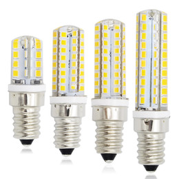 Wholesale E14 Led Candle Lamp 7w - E14 Refrigerator Light Corn Dimmable SMD 2835 LED 220V Candle bulb Replace 7W 10W 12W 15W Compact Fluorescent Lamp Lighting