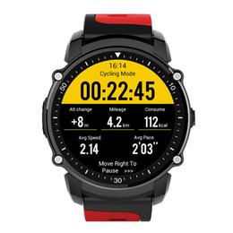 relógio de tela tft Desconto FS08 IP68 Esportes À Prova D 'Água Smartwatch Rastreador GPS Freqüência Cardíaca Relógio Inteligente 1.26 Polegada TFT Touch Screen Bluetooth 4.0 Bússola