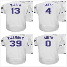 Wholesale flash custom - Tampa Bay Custom Turn Back 1998 White 4 Blake Snell 13 Brad 39 Kevin Kiermaier 0 Mallex Smith Baseball Jerseys Mens Womens Youth