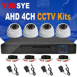 2019 видео ahd 2018 новый 4ch 1080P HDMI выход DVR комплект AHD CCTV системы 4шт 2.0 mp Камера открытый AHD-M системы видеонаблюдения дешево видео ahd