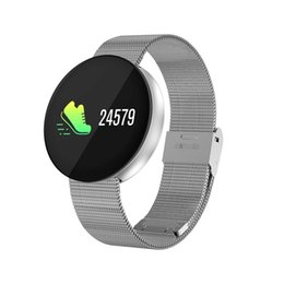 Wholesale Apple Multi Monitor - CF008 Smartband Watch Fitness Band Blood Pressure Heart Rate Monitors Multi-Sports Mode Color Screen Smart Bracelet