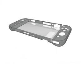 Wholesale Clear Hard Case Retour Case Pour Nintendo Switch Case Cristal Et Verre Trempé pour Nintendo Switch jeux console écran verre
