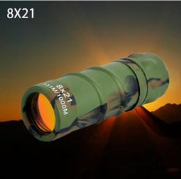 2019 microscopi della lampada 8x21 binocolo ad alta potenza ad alta definizione a basso livello di luce visione notturna concerto pellicola rossa