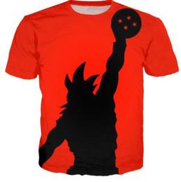 Wholesale men graphic shirt - Dragon Ball Z GoKu Graphic 3D Print T Shirts Funny Hip Hop Tops Short Sleeve Comfortable T Shirt Fashion Men Women Clothing 6XL