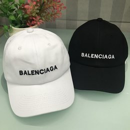 f289bd7c270 BALE NCIAGA BB baseball cap casual sun hat adjustable snapback cap hip-hop  hat skateboard couple ball caps hight quality supplier camp hat snapback