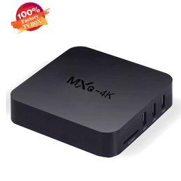 Wholesale Hd Media Player Remote Control - MXQ 4K TV Box Smart Boxes Rockchip RK3229 Fully Loaded H.265 4K 60tps Support HD Media Player Android TV Box Remote Control vs S905W H96