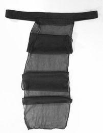 Wholesale Hot Men Mesh Underwear - G3827 Hot Mens String Thong Sexy Japanese Style Mesh Underwear Sagging Fundoshi Underwear See Thru Mesh Polyester