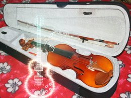 Wholesale Pine Panel - Wholesale 4 4 VIOLIN FULLSize , with Case, BOW, High quality Adults Violin Pine panel