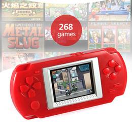 Presentes de videogames on-line-Mini Handheld Game Players 268 jogos Retro consola de jogos de vídeo 2.0 '' cor tela Gaming consola presente para as crianças