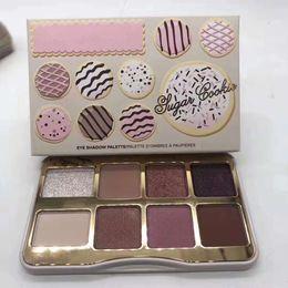 Biscoitos feitos on-line-FREESHIPPING Brand Cosmetic Sugar Cookie ou Pêssego Tickled Mini Eyeshadow Maquiagem Paleta de Férias Chirstmas paleta de sombras 8color