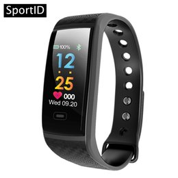 Wholesale brown monitor - New Smart Bracelet CK17 Wristwatch Waterproof ECG Real -time Heart Rate Monitor Sport Fitness Tracker Wristband USB-charge Watch