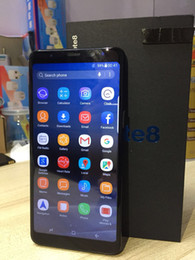 Wholesale Mobile 1g Ram - Goophone WCDMA 3G note 8 6.2inch MTK6580 Unlocked cell phone Quad Core Android 7.0 1G Ram 4G Rom show 4G LTE smart phone mobile
