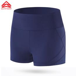 Wholesale Design Dance Pants - Syprem Women Running Shorts Sports Breathable Black Short Leggings Slim Mesh Design Sportswear Girls Dancing Shorts,1FP0024