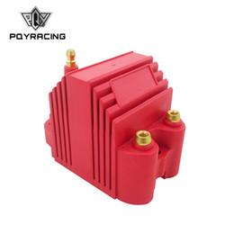 cableado del paquete de bobina Rebajas PQY - Universal Blaster Ss 12V Bobina de encendido con núcleo en E externo macho de alto rendimiento PQY-EIC11