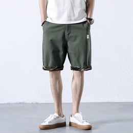eb5ab65be16 M-3XL 2018 summer camo shorts fashion casual fitness shorts green mens  Cotton 100% bermudas para homens