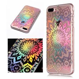 Canada Téléphone Case Pour iPhone 5 5S SE 6 6S 7 8 Plus X Luxe Laser Rainbow Brillant Iridescent Soft TPU Couverture Arrière Offre