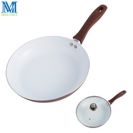Wholesale Glass Cook - 26cm Non-Stick Frying Pan With Ceramic Coating And Induction Cooking Ceramic Pan Pot Multipurpose Skillet With Without Glass Lid