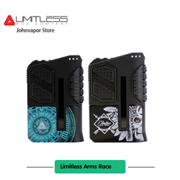 Wholesale Racing Metal - Limitless Arms Race Mod Support 200w VS Wismec Update New Limitless Arms Race 220W