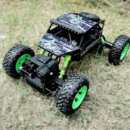Wholesale Hot Wheels Road - Off Road Vehicle Model Cars 2.4G Four Wheel Drive 1:18 Alloy Climb Remote Control Car Automobile Children Kid Toy Gift Hot Sale 58bn V