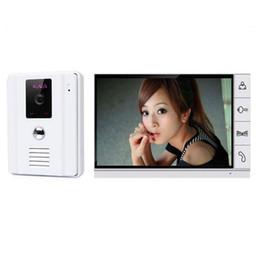 a4983b0032d3c 2019 câmeras de segurança de visão ampla Uso doméstico de 9 polegada TFT  Monit Com Fio