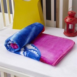 Wholesale Baby Warming Blanket - New Kids Blankets Flannel spider-man Trolls Warm cartoon Blankets Smooth Flannel Blankets Baby Beddings Swaddling Blanket Towel 1*1.4m