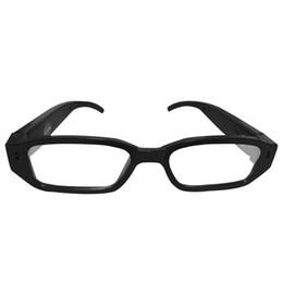 Videocamera auricolare hd online-Occhiali da ciclismo portatili HD 1080P 720P 480P Camera Recorder Occhiali da vista intelligenti per biciclette Sport all'aria aperta DV Smart Video Glasses