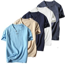 6b40ee80f14 Plain Solid Color Casual Short Sleeve Men s T Shirts 82