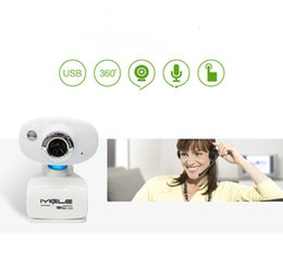 Wholesale Night Vision China - 123 Free Desktop Notebook Clip HD Camera with Microphone Desktop Computers Video Head with Night Vision Batch