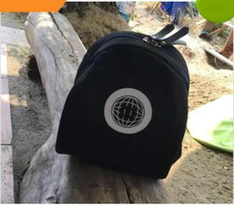 Wholesale wood makeup organizer - New Classic high-grade C symbol black Backpack Travel Bag Retro Outdoor mountaineering bag Makeup Organizer Clothes storage bag Vip gift