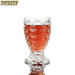 Wholesale Fish Shooting - Exquisite Wine Glass Fish Scale Goblet Whiskey Beer Red Wine Cup Shot Wine-Glasses