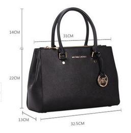 Wholesale Designer Brand Handbags - famous brand Designer fashion women luxury bags lady PU leather handbags brand bags purse shoulder tote Bag female 6616