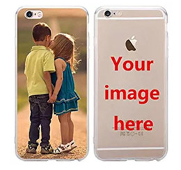Canada Pour iphone X case Design chat mignon pour iphone 7 Plus Transparent Clear Soft TPU personnalisé Personnalisez votre image ICI VOTRE PHOTO ICI Offre